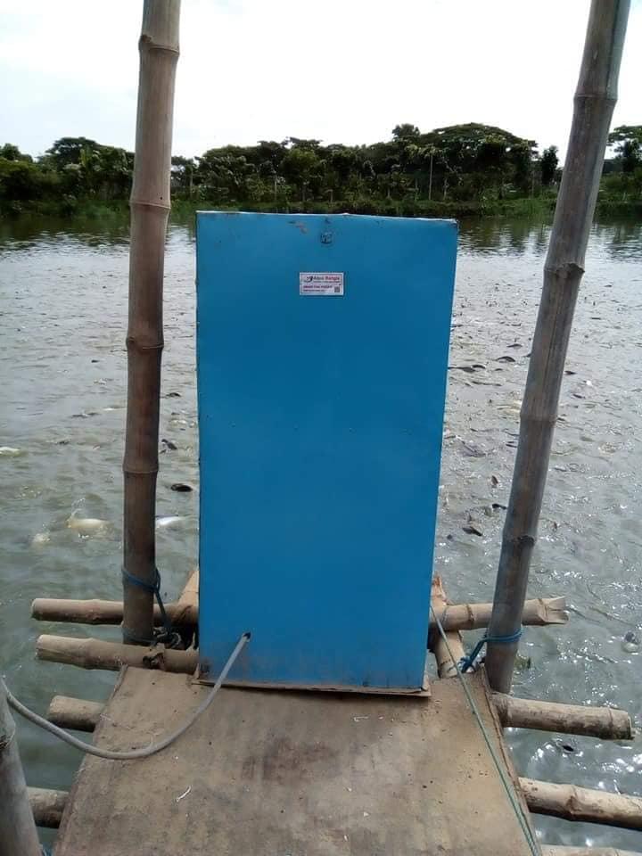 Automatic fish feeder (Metal Body)